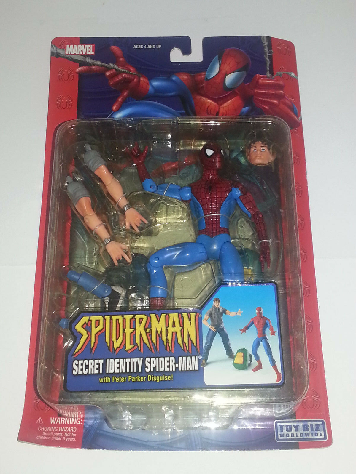 Marvel Legends NEW - SPIDER-MAN Secret Identity PETER PARKER - Spidey Classics