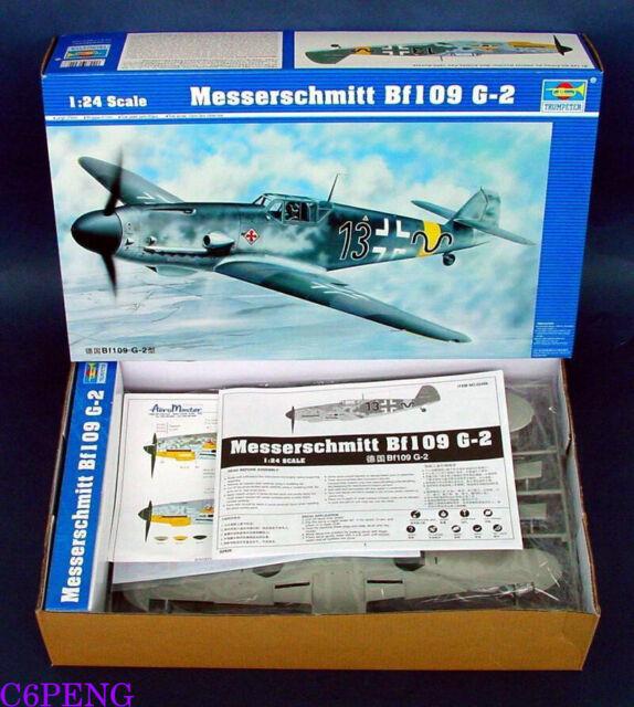 Trumpeter 02406 1/24 Messerschmitt Bf109 G-2 hot
