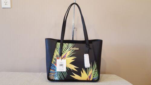 Klein Color248 Nwt Handtas met palmtassen Marissa lederen Multi Calvin Zwart VpGqzSUM