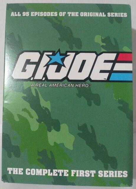 GI Joe The Complete First Series DVD Set, 95 Original Episodes Free Shipping
