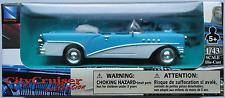 NewRay - 1955 Buick Century Cabrio blau/creme 1:43 Neu/OVP Modellauto