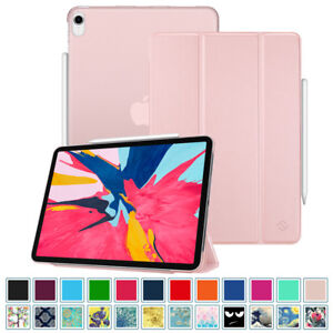 hot sales e2361 a1213 Details about For Apple iPad Pro 11 inch 2018 Case Slimshell Translucent  Frosted Back Cover
