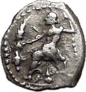 LARANDA-in-LYCAONIA-324BC-Baaltars-Wolf-Genuine-Ancient-Silver-Greek-Coin-i55608