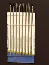 SIZE 5 Doll Reroot or Rehair Replacement Needles. Quantity: 8
