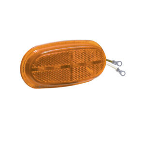 221202, LED Lens Insert - Amber, 200 Series Lamps, 6 Diode