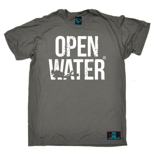 Ahia Diver Grassetto acque aperte da Uomo T-Shirt Regalo Di Compleanno Divertente immersioni subacquee