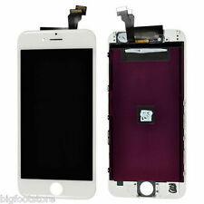 White Iphone 6 4.7 Front Housing LCD Touch Digitizer glass Screen assembly