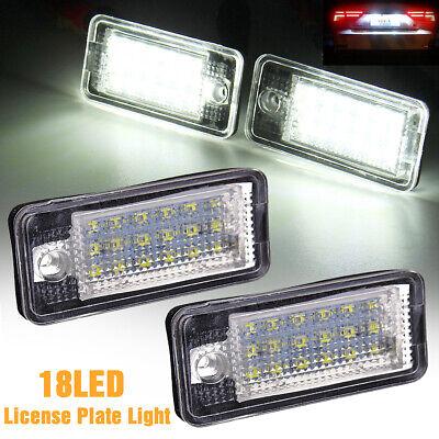 Genuine LED AUDI A3 S3 8P A4 S4 8E A6 S6 4F Number Plate Lighting New
