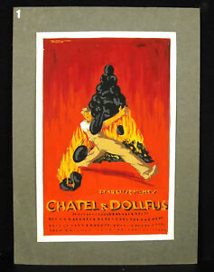 Drawing-Project-Advert-Chatel-amp-Dollfus-Print-Strasbourg-R-Labasque