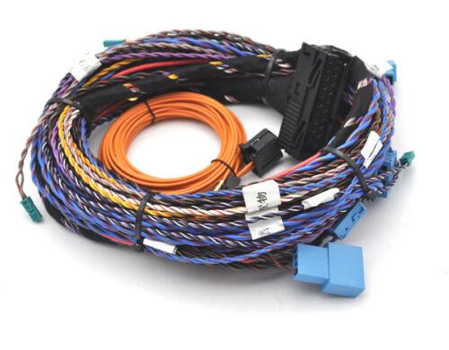 BMW F10 F01 F25 F15 F30 Harman Kardon Logic 7 HIFI AUDIO Kabelsatz nachrüsten