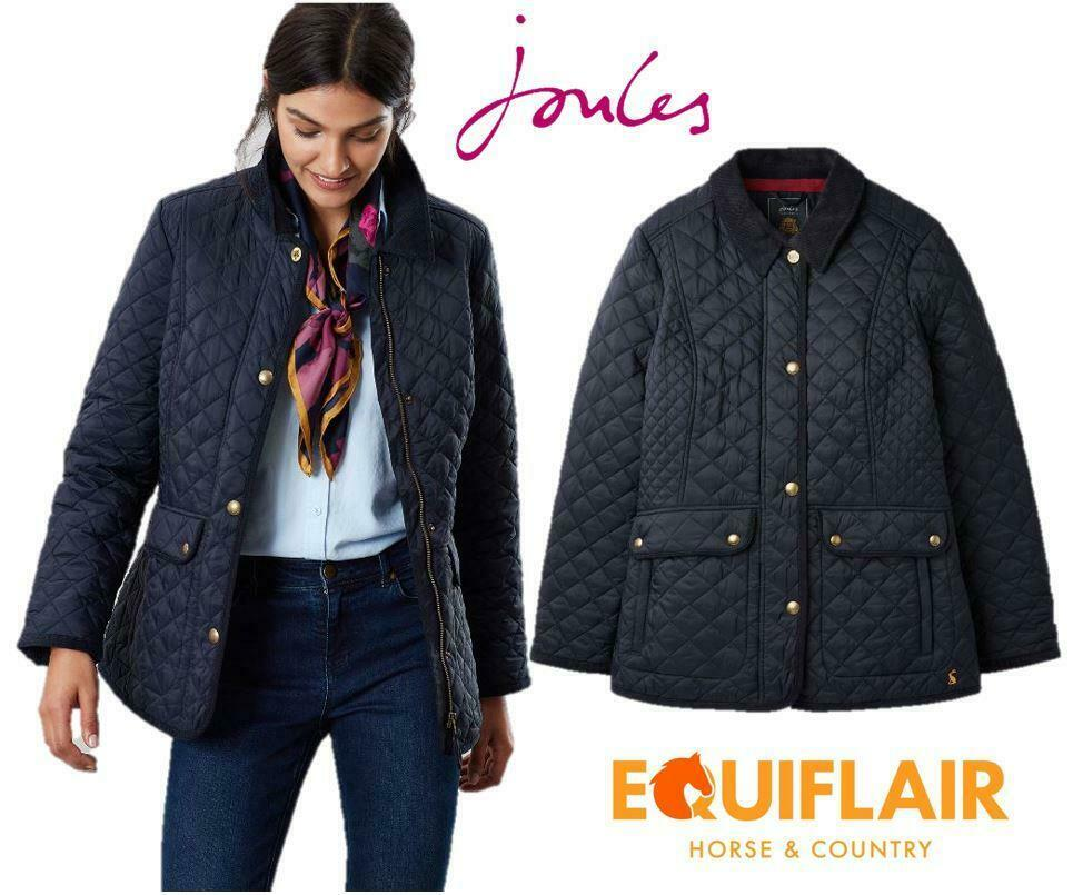 Joules donna nuovodale Quilted Fitted Jacket   AW19