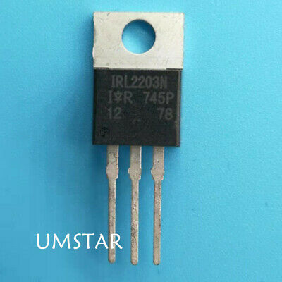 10Pcs New IRL540 IRL540N power MOSFET TO-220 X vd