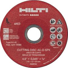Hilti 5 Cutting Disks Ac D Spx 2235155 25 Count
