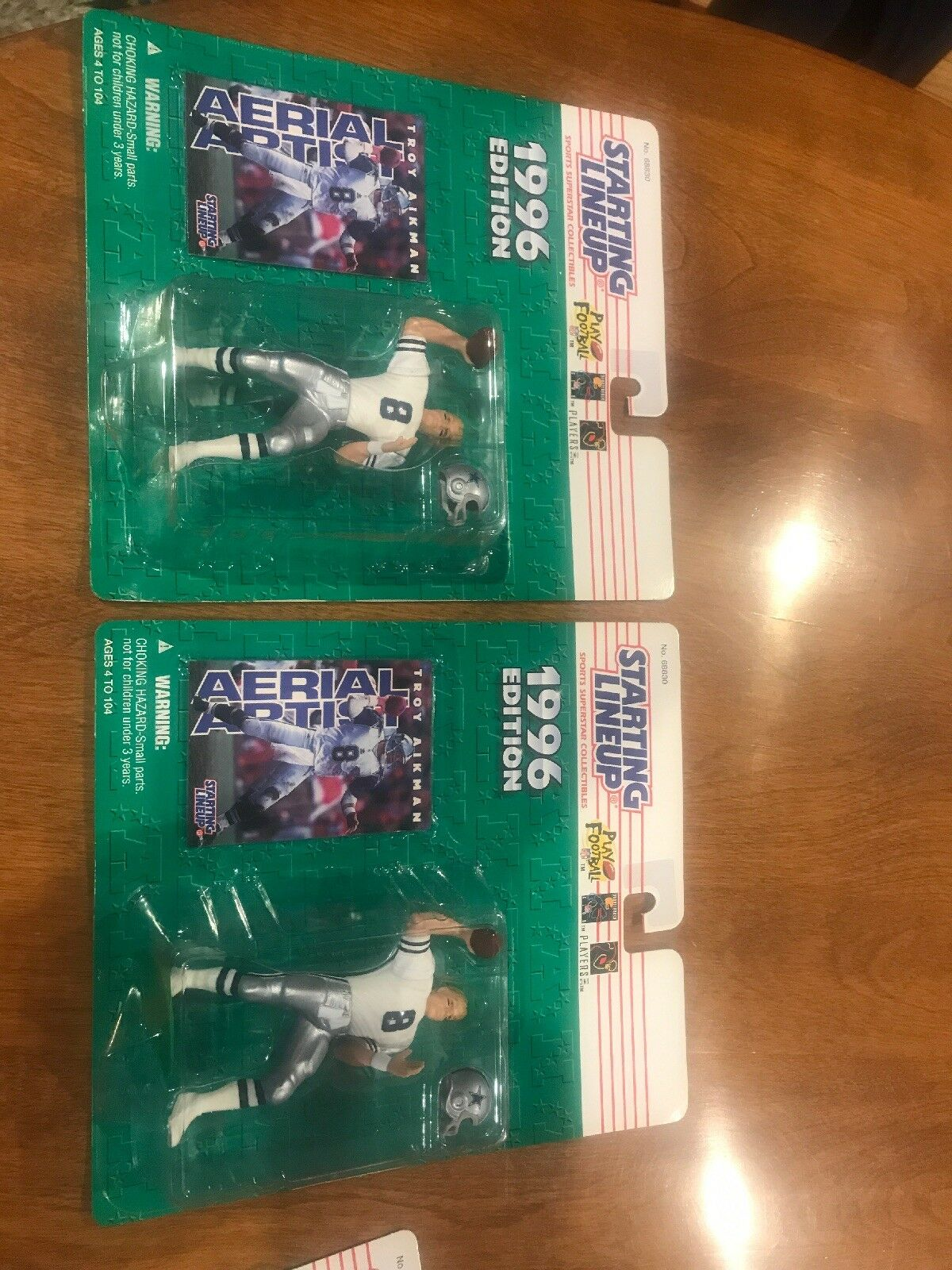1996 KENNER STARTING LINEUP ALBERTSONS EXCLUSIVE TROY AIKMAN DALLAS COWBOYS