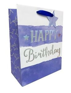 Image Is Loading Birthday Gift Bag Mens Large For Him Boys