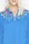 JOHNNY-WAS-Cupra-VANESSA-BLOUSE-Tie-Neck-EMBROIDERED-Top-TUNIC-Red-S-220 thumbnail 11