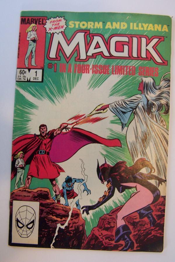 Magik #1 Comic Book Storm and Illyana (1983)