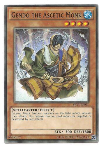 Gendo the Ascetic Monk SHVI-EN041 Common Yu-Gi-Oh Card Mint U New