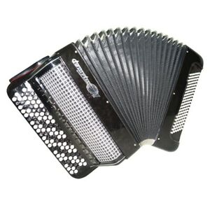 Bayan Jupiter Lux Russian Button Accordion Double Cassotto Converter 1469
