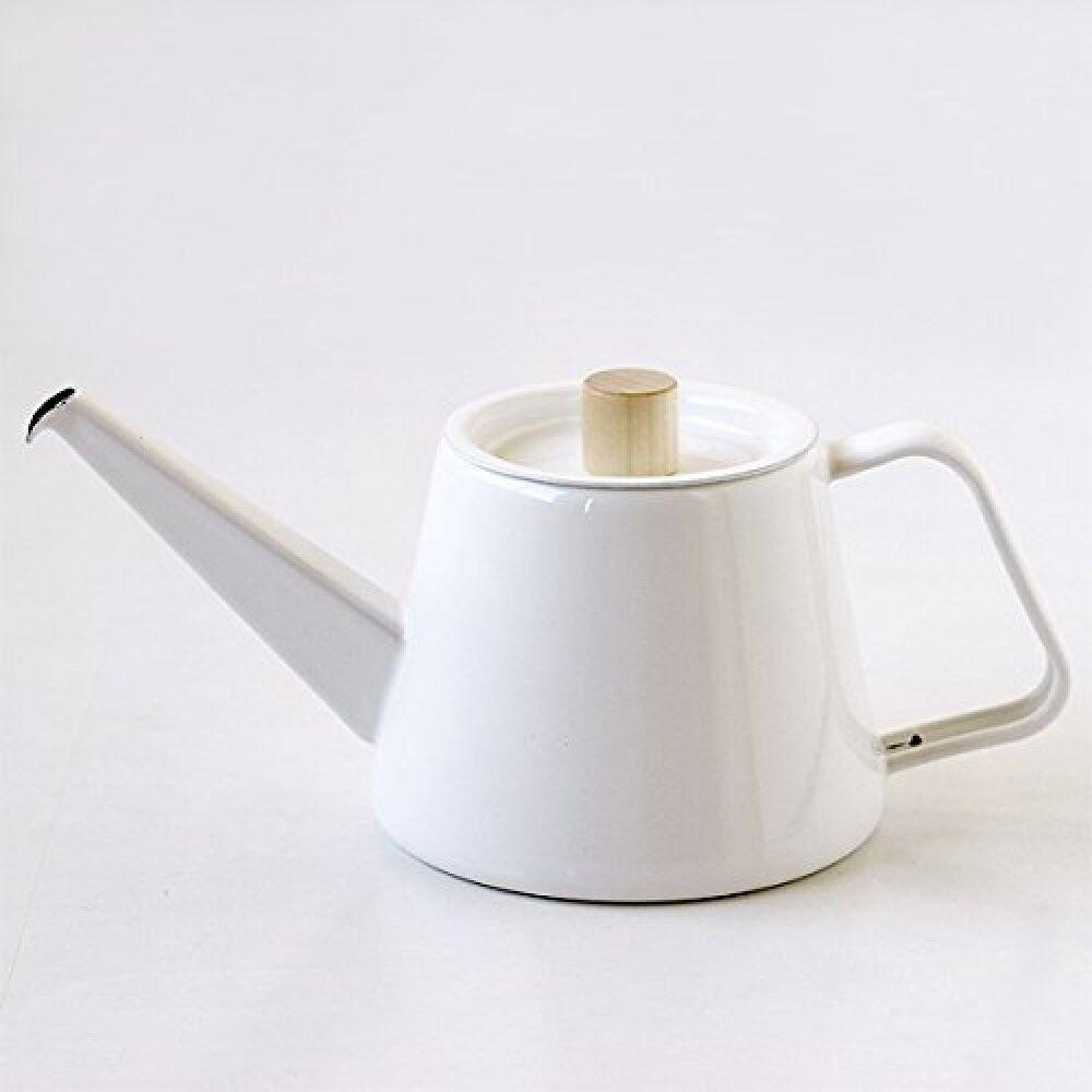 Kaico KOIZUMI MAKOTO Design Hor Enamel Ware Coffee Drip Stylish Kettle S