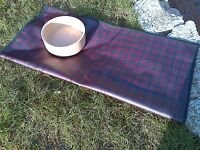 Tartan Home - Tablecloth/splat Mat - Mcdonald Oilcloth Square Corners- 28