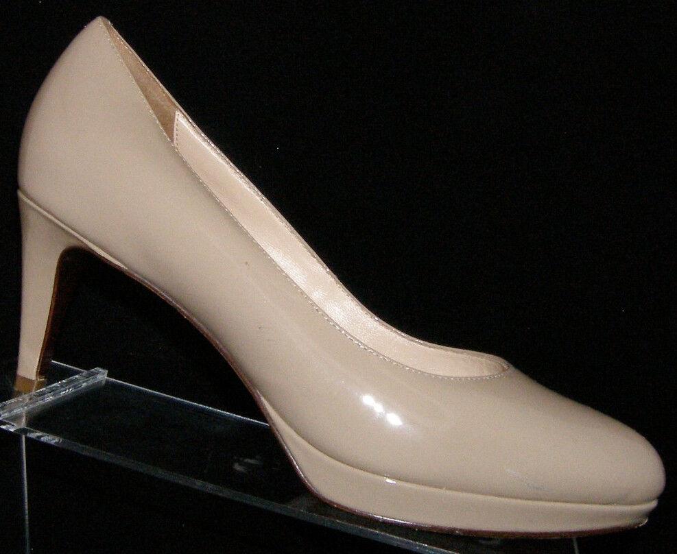 Cole Haan Maple Sugar patent Chelsea low almond toe platform platform platform heels 8B fc938c