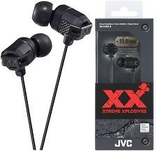 JVC HA-FX102 BLACK In-Ear Headphones Extreme Bass Original / Brand New