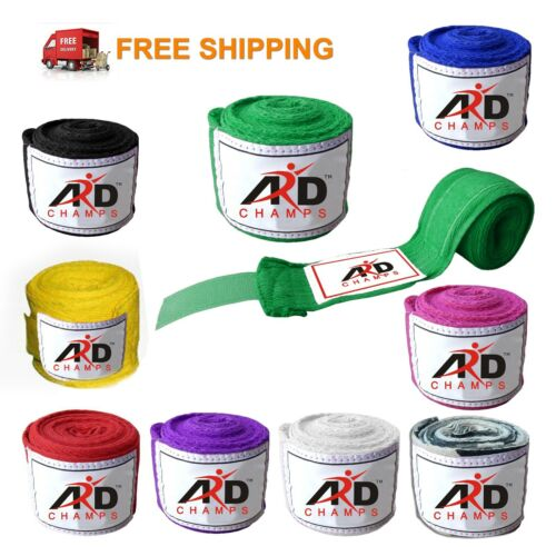 ARD Boxing Hand Wraps Boxing Bandages Wrist Protecting Fist Punching 10-Colours