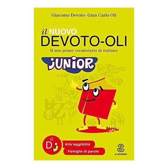 9788800500531 Il nuovo Devoto-Oli junior. Il mio primo vocabolario di italiano -