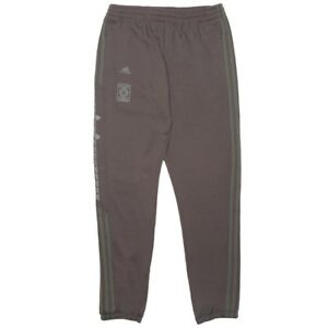 Details about Adidas Men Yeezy Calabasas Track Pants gray umber core