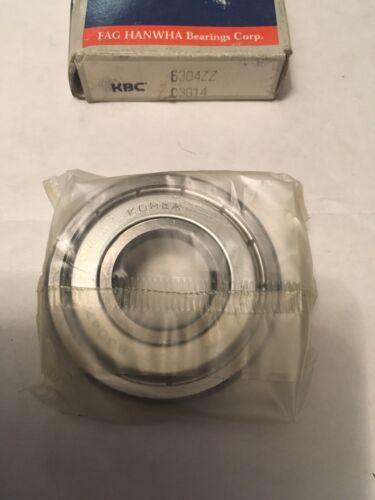 KBC Bearings 6304ZZ Bearing 20X52X15Mm New Metal Shielded