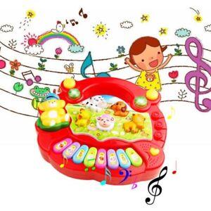 Baby-Kids-Musical-Educational-Piano-Animal-Farm-Developmental-Music-Toys-Game-US