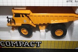 Caterpillar-Dump-Truck-Construction-Joal-Die-cast-Metal-w-Box-Scale-1-70-QQ