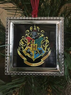 Harry Potter Hogwarts Crest 3 Metal Ornament 1b Slytherin