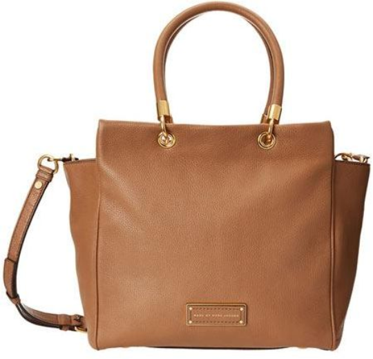 6407e542bc Marc Jacobs Praline Leather Too Hot to Handle Bentley Satchel Bag ...
