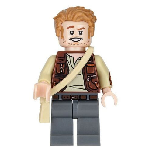 New LEGO Jurassic World Owen Grady Minifig ToysRUs Bricktober 2018 5005255