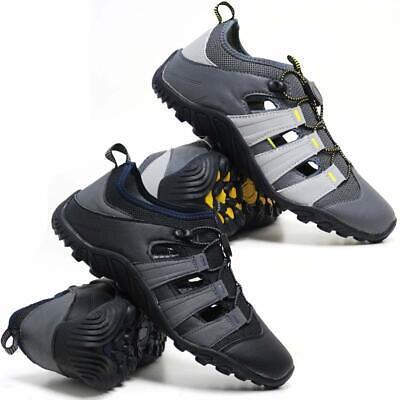 Men/'s Outdoor Randonnée Trail Chaussures De Sport Plage Sandales Bout Fermé Flip Flop Sandale