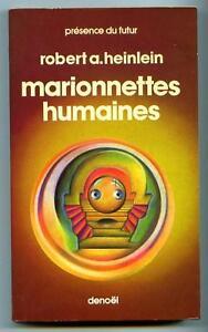 Pdf N 159 Marionnettes Humaines Robert Heinlein Denoël Présence