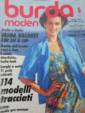 BURDA Moden n°5 1986  - con cartamodelli  - [M11]