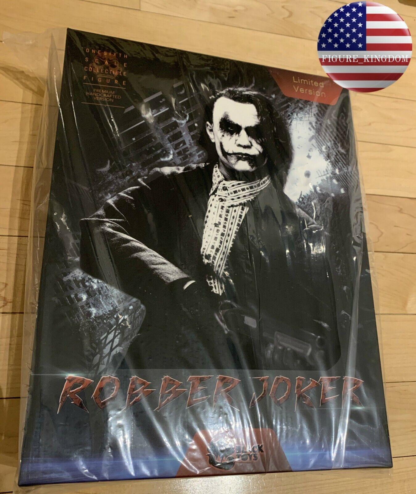LIMITED EDITION 1 6 Joker Heath Ledger BATMAN THE DARK KNIGHT Figure Premium Set
