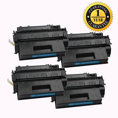 4 PK CE505X 05X Compatible Toner Cartridge For HP LaserJet P2055dn P2055d P2055