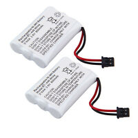 2x For Bg0004 Bg004 Cordless Home Phone Replacement Battery Pack At&t 3095 3470