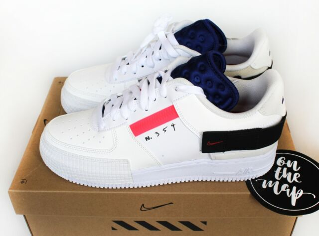 best service 52a5f bbacd Nike Air Force 1 AF1 Type N.354 2019 Summit White UK 5 6 7 8 9 10 11 12 US  New