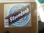VINTAGE BELGIUM BEER LABEL. MOORTGAT BREWERY - STEENDONK WHITE ALE 25 CL