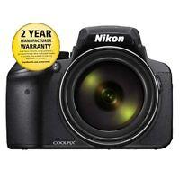 Nikon Coolpix P900 Digital Camera (black) With Aust Nikon Warranty