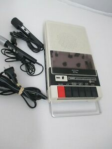 Vintage-Tandy-Computer-Cassette-Recorder-CCR-81-Model-26-1208A-2-Mic-Radio-Shack