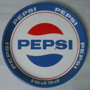 Vintage-PEPSI-Kellnertablett-Bistro-Tablett-aus-Blech-ca-1960er-70er-Jahre