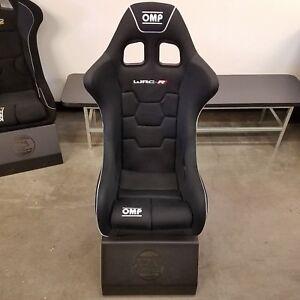 OMP WRC-R Racing Seat Black - HA/773E