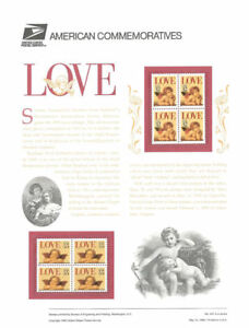 457-32c-amp-55c-Love-Stamps-2948-2949-USPS-Commemorative-Stamp-Panel