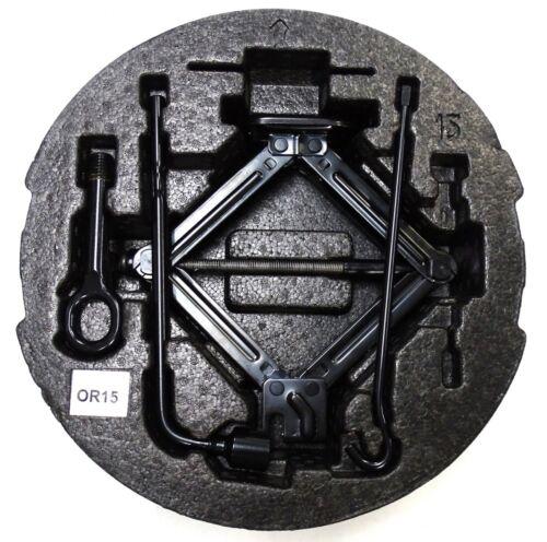 Genuine Hyundai i20 Jack de 2012-2019 Kit de Herramientas Set Brace Remolque Ojo de espuma de vivienda